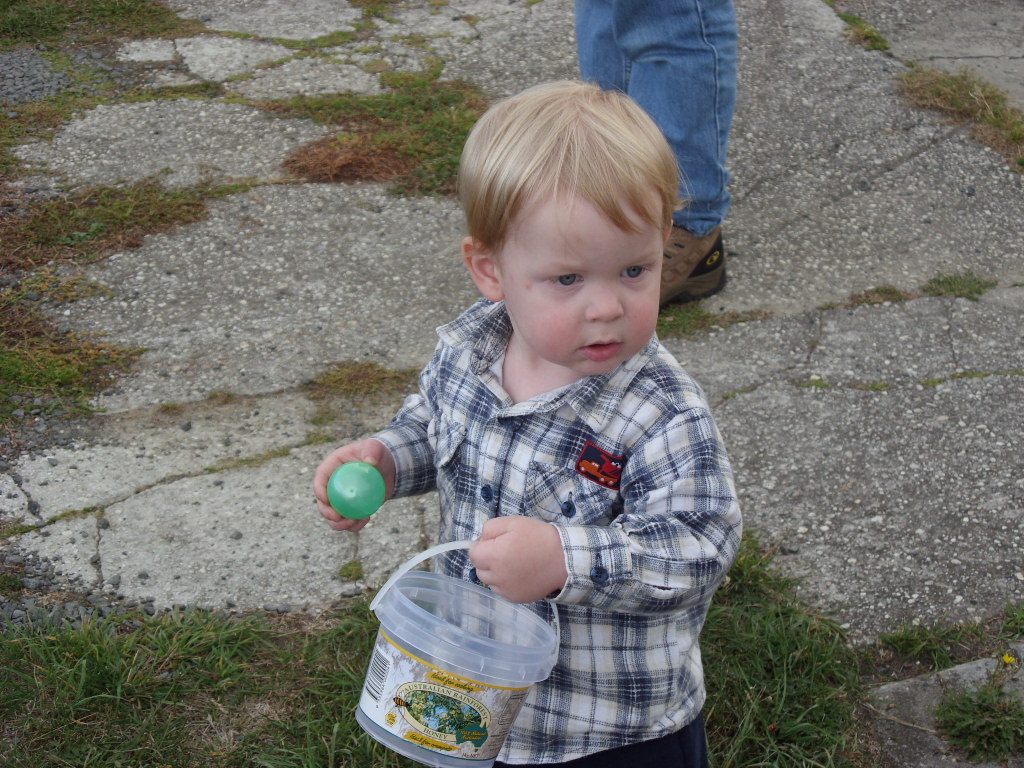 Easter egg collecting